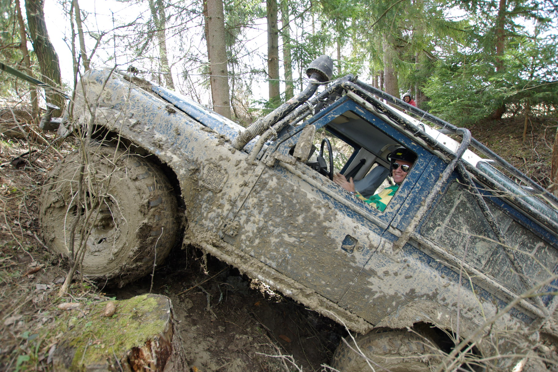 Taking part in extreme 4x4 competitions in Europe